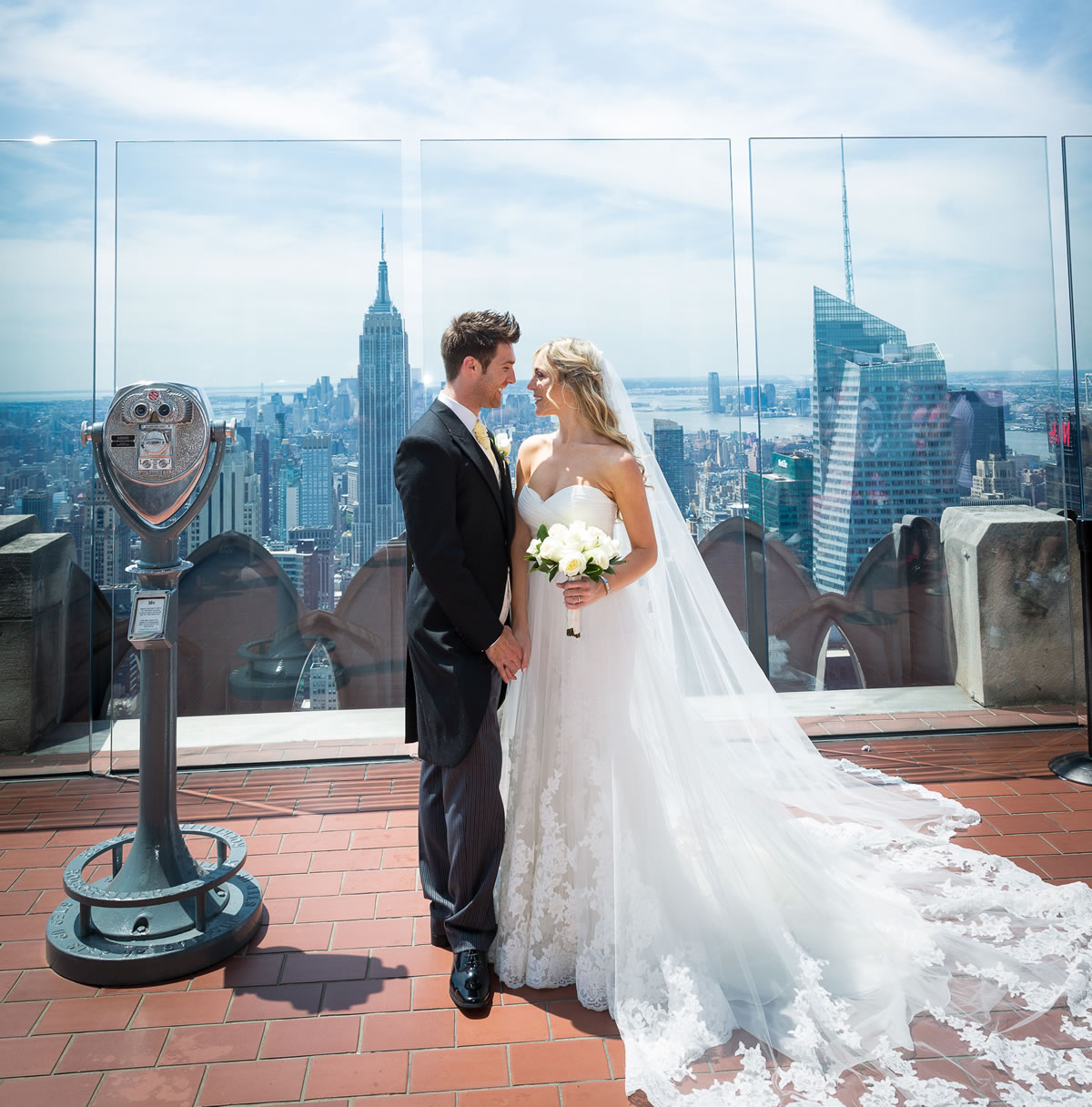 Elopement Nyc Top Of The Rock