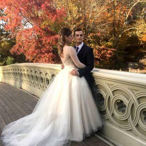 Bow Bridge Central Park Elopement Weddings Las Pavillion