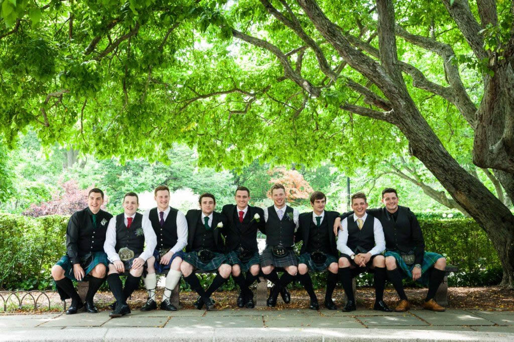 Below Are Photos From Some Weddings At The Conservatory Gardens