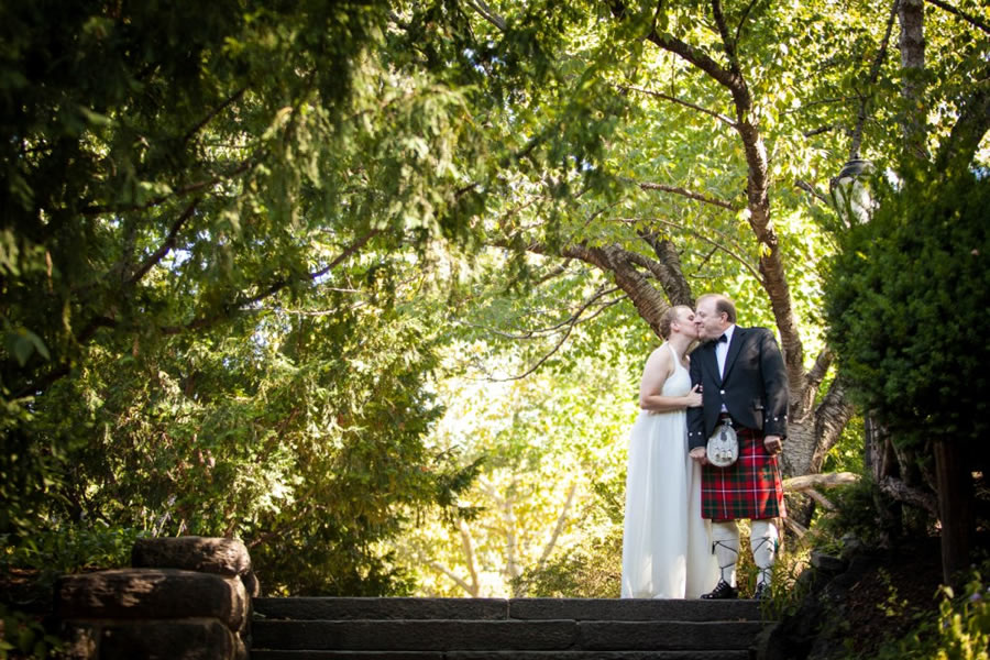 Shakespeares Garden Central Park Wedding Package