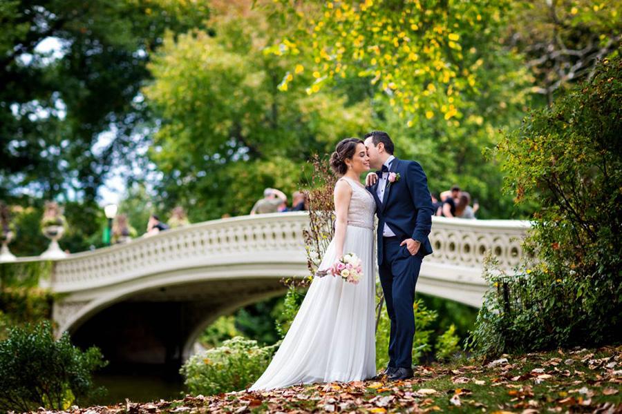 central park weddings bow bridge elopement nyc get