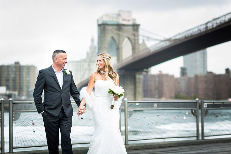 Manhattan S Skyline Brooklyn Bridge